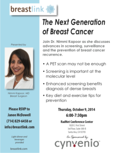 Next Generation of Breast Cancer | Dr Kapoor
